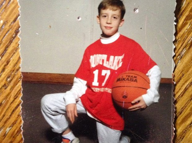 Macklemore as a young boy