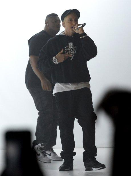 Eminem at the YouTube Awards 2013
