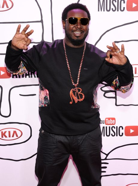 T Pain at the YouTube Awards 2013