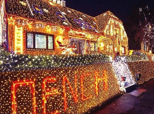 Lethal Bizzle dench christmas lights
