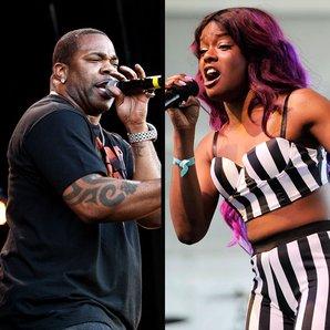 Azealia Banks and Busta Rhymes