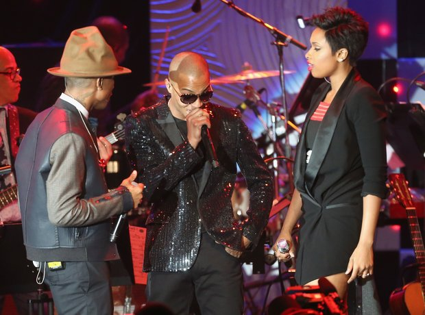 Pharrell T.I Jennifer hudson