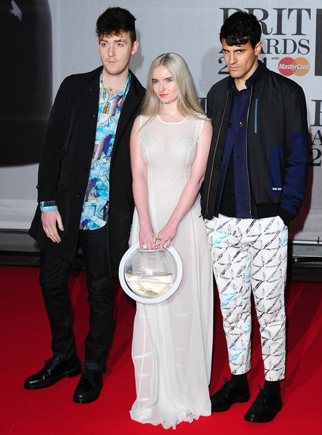 Clean Bandit BRIT Awards Red Carpet 2014