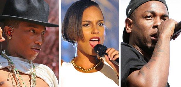 Pharrell Alicia Keys Kendrick Lamar