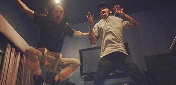 Kid Ink Steve Aoki Jumping