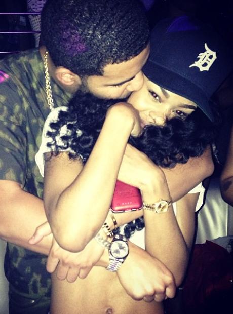 Drake Hug Teyana Taylor Instagram