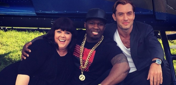 melissa mccarthy 50 cent Jude Law