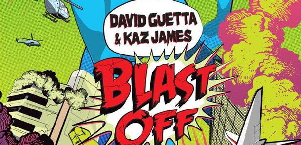 David Guetta Blast Off Artwork
