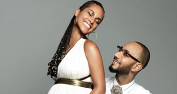 Alicia Keys Swizz Beatz pregnant