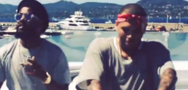 Chris Brown dancing Instagram