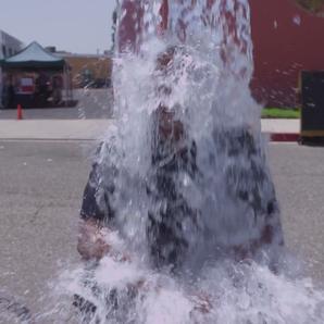 Dr Dre ice bucket challenge