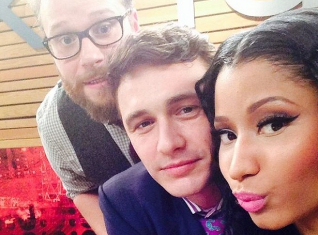 Nicki Minaj Seth Rogan James Franco