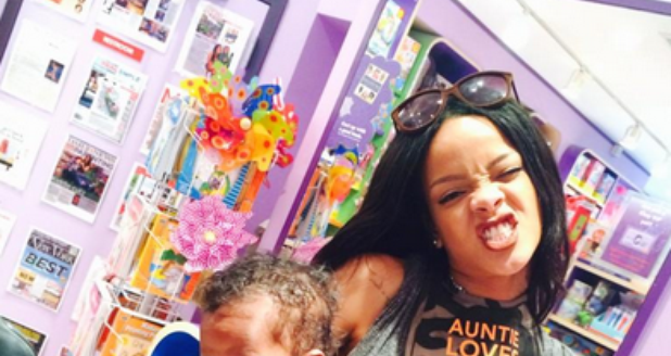 Rihanna and her Niece