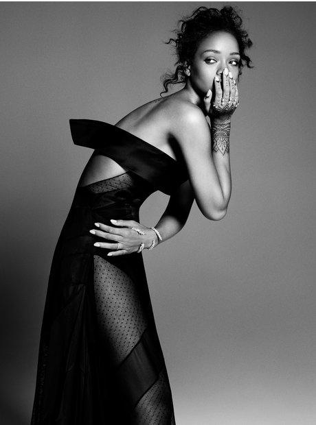 Rihanna ELLE USA Magazine