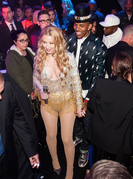 Iggy Azalea and Nick Young new year