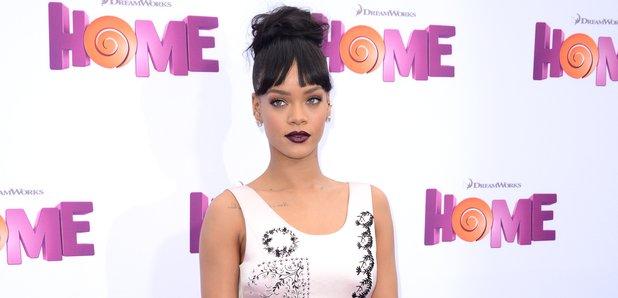 Rihanna HOME premiere