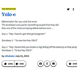 Sarcastic Urban Dictionary