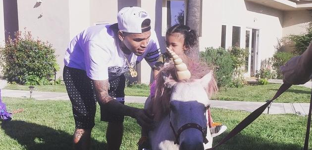 Chris Brown Royalty Pony