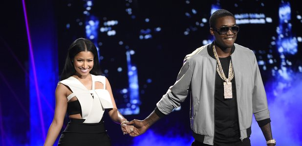Nicki Minaj and MeeK Mill BET Awards 2015