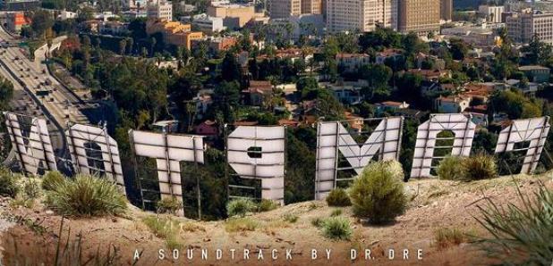 Dr Dre Compton artwork