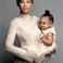 Image 7: Beyonce standing with Blue Ivy