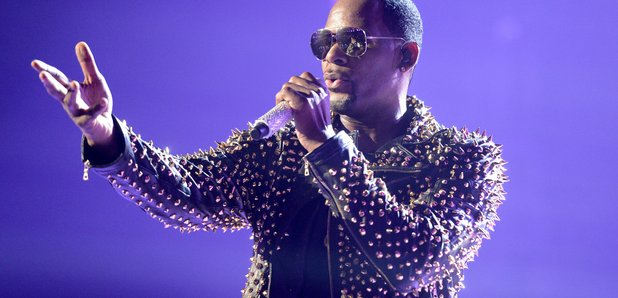 R. Kelly on stage