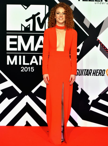 Jess Glynne MTV EMA's 2015 Red Carpet