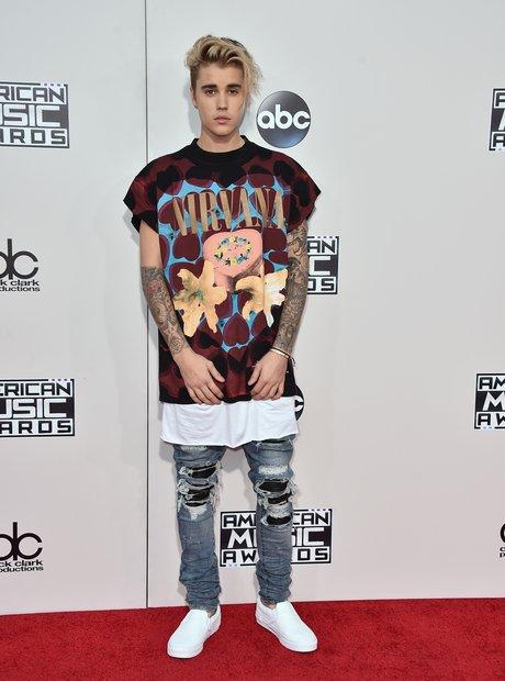 Justin Bieber American Music Awards 2015