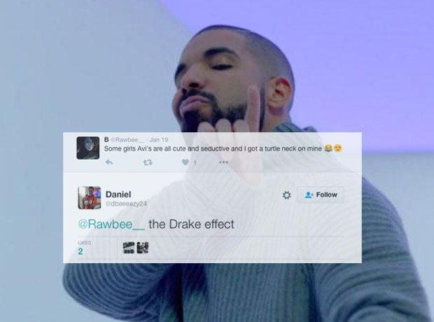 Drake wearing jumper