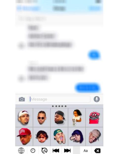Chris Brown Emojis