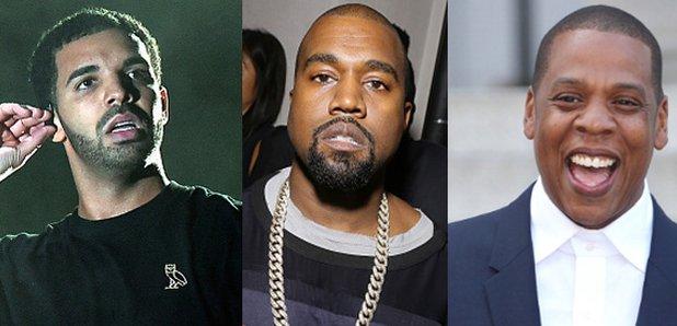 Drake, Kanye West, Jay Z