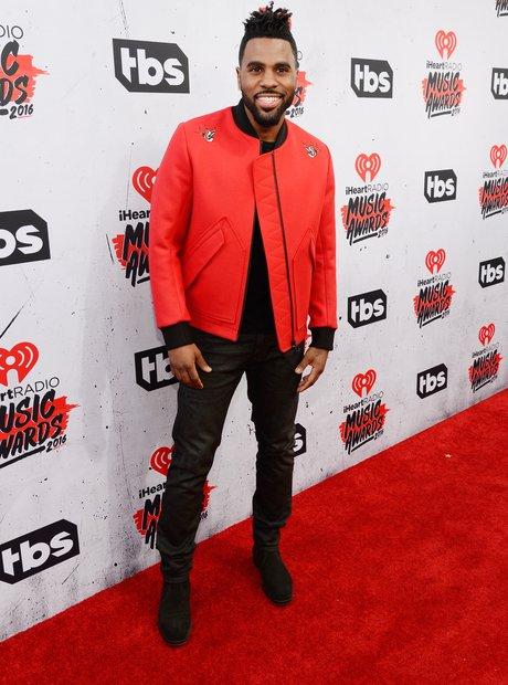 Jason Derulo iHeartRadio 2016 Red Carpet