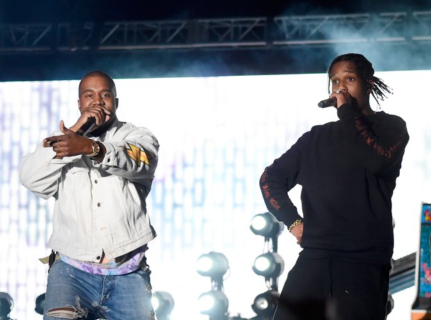 Kanye West and A$AP Rocky Coachella 2016
