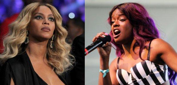 Beyonce and Azealia Banks