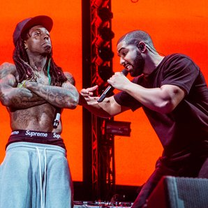 Lil Wayne and Drake perform at Lil Weezyana Festiv