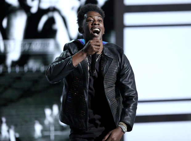 Desiigner at the BET Awards 2016