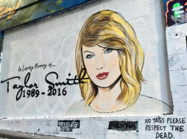 Taylor Swift Memorial