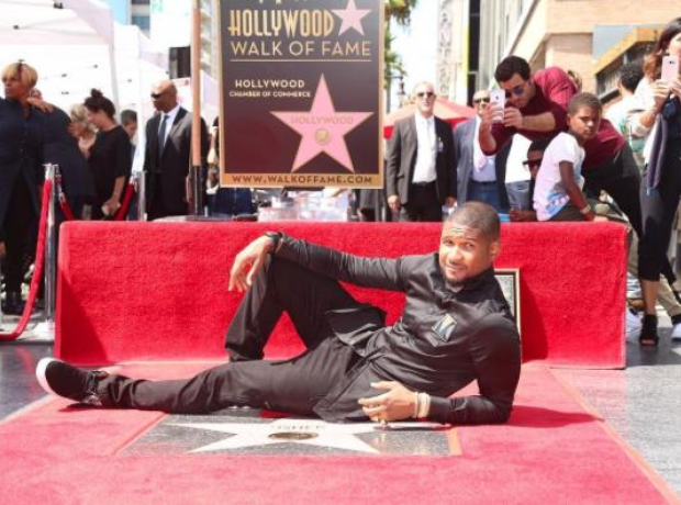 Usher Hollywood Walk Of Fame