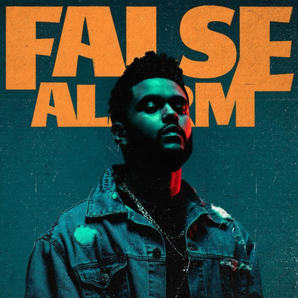 The weeknd single cover for false alarm