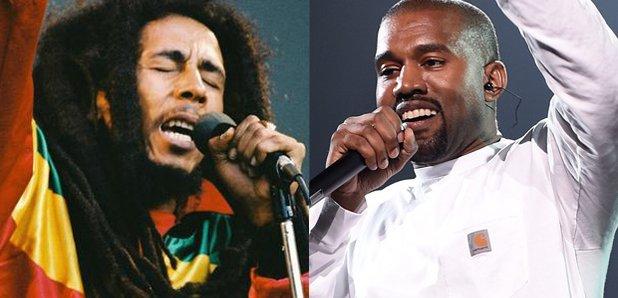 Bob Marley and Kanye West