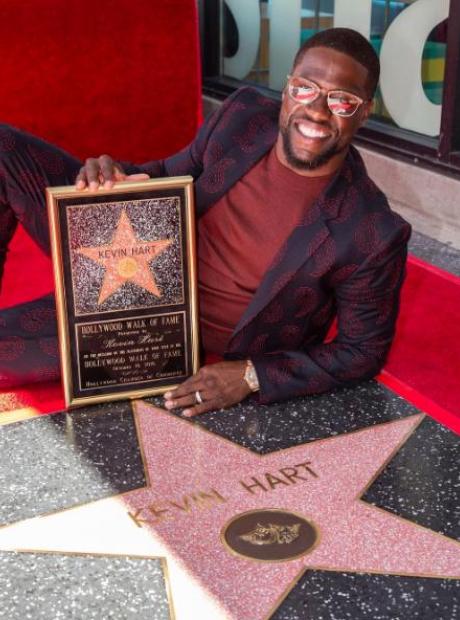 Kevin Hart Hollywood Walk Of Fame