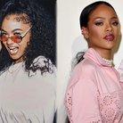Rihanna and India Love
