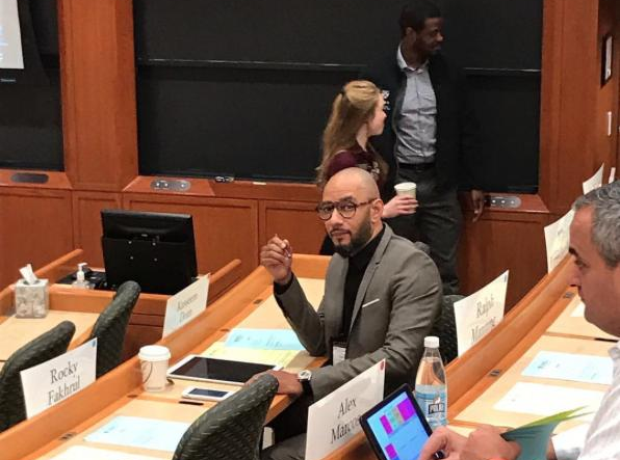 Swizz Beats In A College Seminar