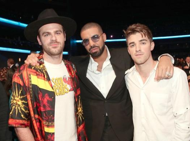 Drake and the Chainsmokers at AMAs