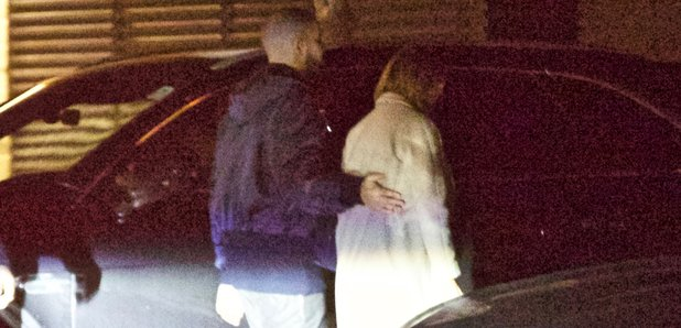 Drake and J Lo on date night