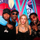 5. He had earlier linked up with Krept, Tinie Tempah and Ellie Goulding at his BRIT's afterparty.