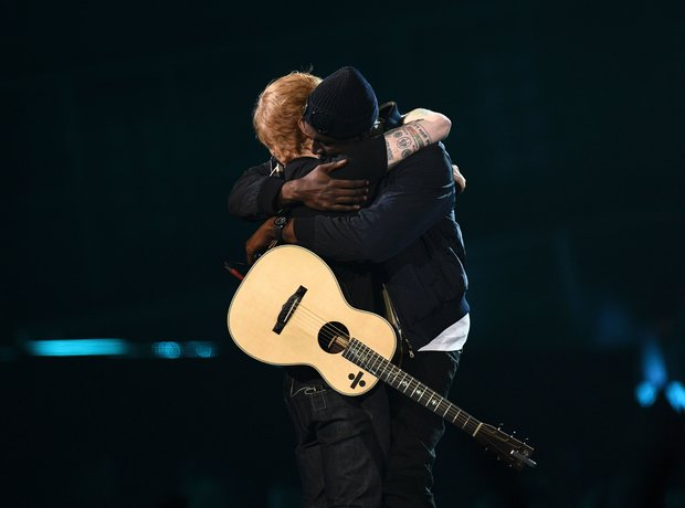 Stormzy & Ed Sheeran BRITs 2017