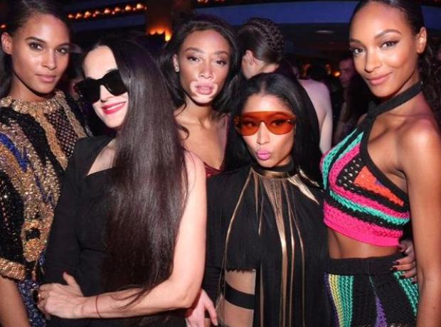 Nicki Minaj, Jourdan Dunn, Winnie Harlow and more