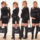 Image 1: Beyonce black dress