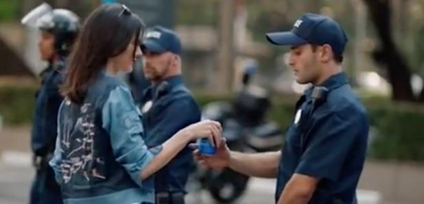 Kendall Jenner Pepsi Advert